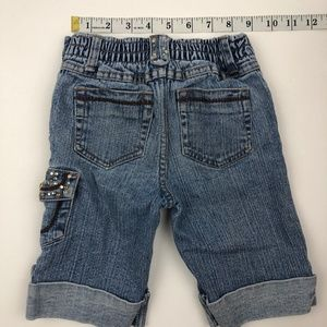 BONGO Bottoms - Little Girls Bongo Jean Shorts